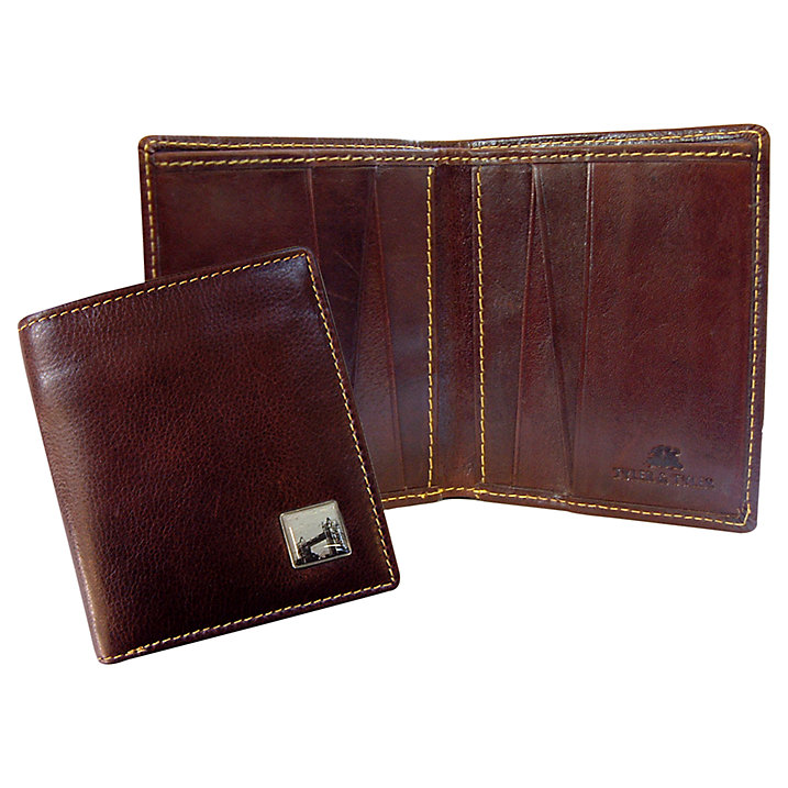 TYLER & TYLER Tower Bridge Leather Wallet (£40)