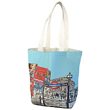 Buy Emmeline Simpson Piccadilly Circus Canvas Tote Bag Online at johnlewis.com
