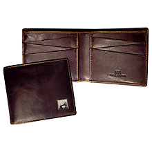 Buy TYLER & TYLER Tower Bridge Billfold Wallet, Brown Online at johnlewis.com