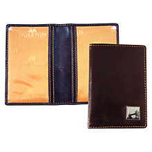 Buy TYLER & TYLER Tower Bridge Leather Card Holder Online at johnlewis.com
