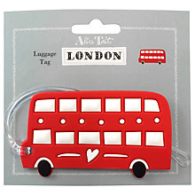 Buy Alice Tait Bus Luggage Tag Online at johnlewis.com