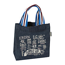 Buy Talented Cityscape London Mini Denim Tote Bag Online at johnlewis.com