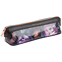 Buy Ted Baker Reeta Pencil Case, Mid Grey Online at johnlewis.com