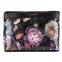 Buy Ted Baker Hudson Large Wash Bag, Mid Grey Online at johnlewis.com