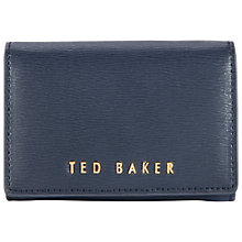 Buy Ted Baker Carley Small Crosshatch Leather Purse Online at johnlewis.com