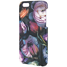 Buy Ted Baker Fraiser Crosshatch Iphone Case, Grey Online at johnlewis.com