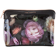Buy Ted Baker Jeanie Make-Up Bag, Mid Grey Online at johnlewis.com