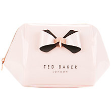 Buy Ted Baker Rochel Bow Wash Bag Online at johnlewis.com