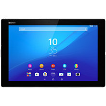 "Buy Sony Xperia Z4 Tablet & Bluetooth Keyboard, Snapdragon 810, Android, 10.1"", Wi-Fi, 32GB, Black Online at johnlewis.com"