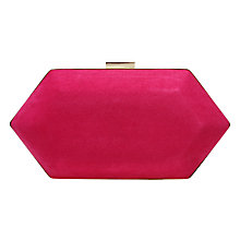 Buy Miss KG Jewel Box Clutch Bag, Salmon Pink Online at johnlewis.com