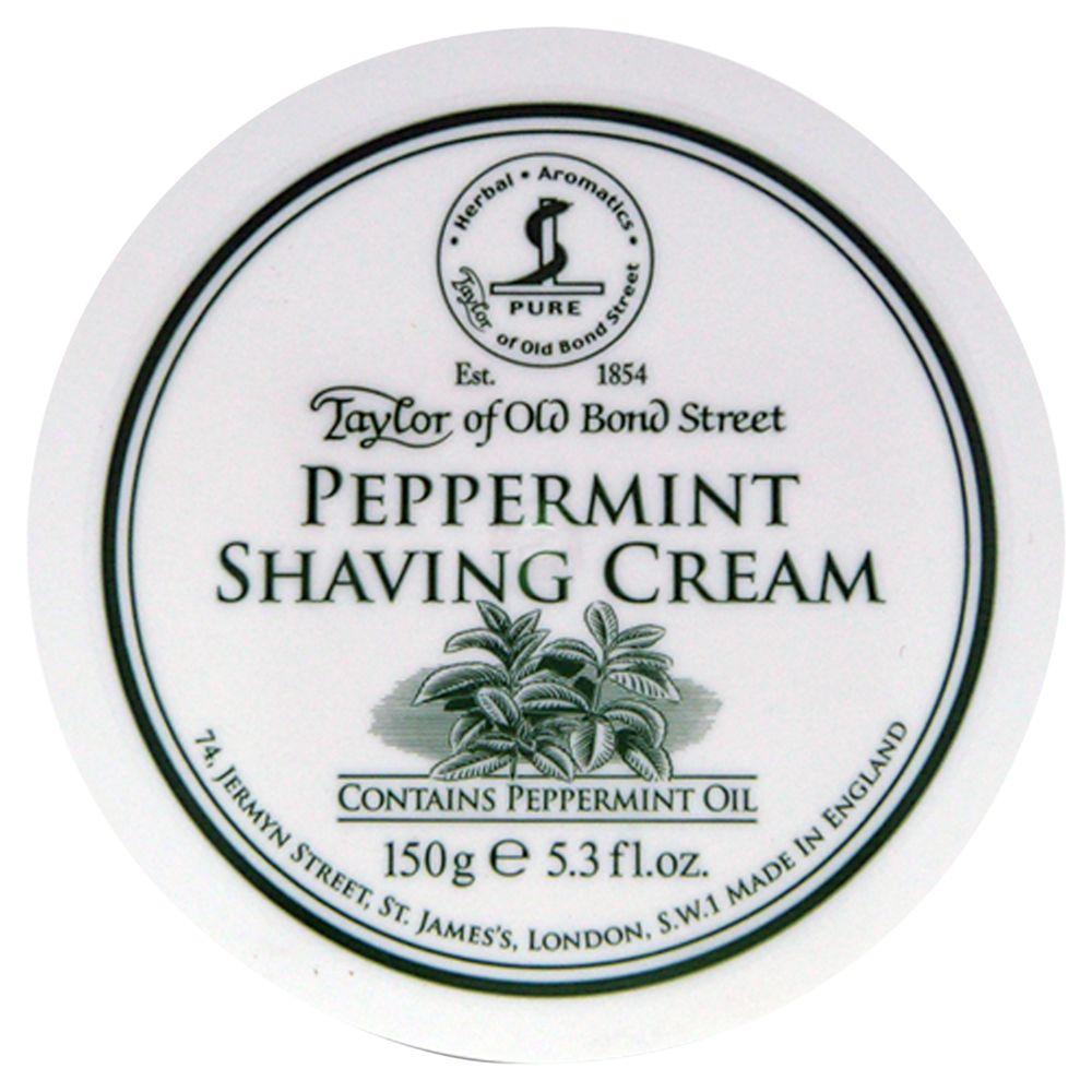 Taylor of Old Bond Street Taylor of Old Bond Street Peppermint Shaving Cream, 150g