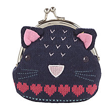 Buy John Lewis Cat Clasp Purse Online at johnlewis.com