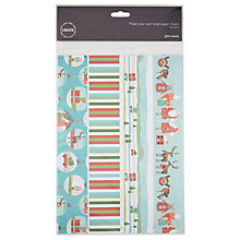 Buy John Lewis Create Large Christmas Paper Chain, Pack of 10, Multi Online at johnlewis.com