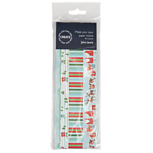 Buy John Lewis Create Your Own Christmas Paper Chains, Pack of 90, Multi Online at johnlewis.com