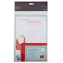 Buy John Lewis Create Kids Letter To Santa, Pack of 2 Online at johnlewis.com