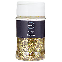 Buy John Lewis Create Glitter, Gold Online at johnlewis.com