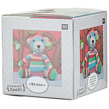 Buy Rico Crochet Bruno Craft Kit, Multi Online at johnlewis.com