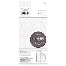 Buy Docrafts Wedding Sweets Bag, Dove Grey, Pack of 20 Online at johnlewis.com