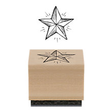Buy East of India Star Rubber Stamp Online at johnlewis.com