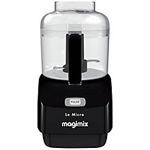 Buy Magimix Le Micro Mini Chopper, Black Online at johnlewis.com