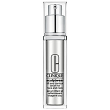 Buy Clinique Sculptwear Lift Contour Serum Online at johnlewis.com