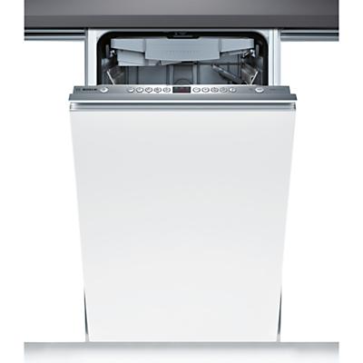 Bosch SPV69T00GB Integrated Slimline Dishwasher Brushed Steel