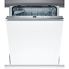 Buy Bosch SMV53L00GB Integrated Dishwasher, Brushed Steel Online at johnlewis.com