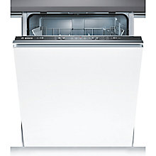 Buy Bosch SMV50C10GB Integrated Dishwasher, Black Online at johnlewis.com