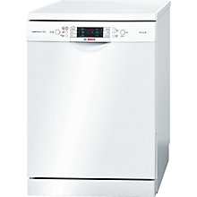 Buy Bosch SMS69M12GB Freestanding Dishwasher, White Online at johnlewis.com