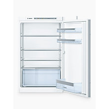 Buy Bosch KIR21VS30G Integrated Larder Fridge, A++ Energy Rating, 54cm Wide Online at johnlewis.com