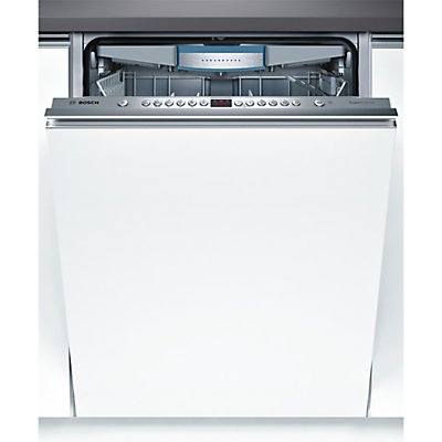 Image of Bosch SBV69M00GB Integrated Dishwasher, Brushed Steel