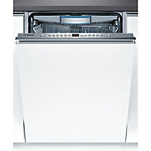 Buy Bosch SBV69M00GB Integrated Dishwasher, Brushed Steel Online at johnlewis.com