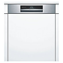 Buy Bosch SMI88TS00G Integrated Dishwasher, Brushed Steel Online at johnlewis.com
