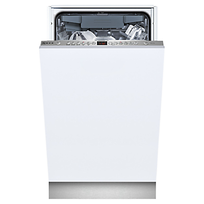 Neff S58T69X1GB Fully Integrated Slimline Dishwasher Stainless Steel