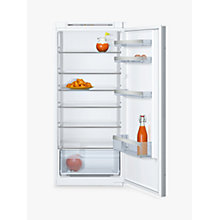 Buy Neff KI1412S30G Integrated Larder Fridge, A++ Energy Rating, 56cm Wide Online at johnlewis.com