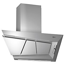 Buy Neff D99L20N0GB Chimney Cooker Hood, Stainless Steel Online at johnlewis.com