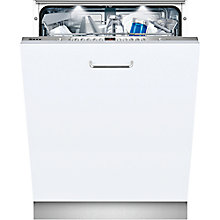 Buy Neff S72M66X1GB Fully Integrated Dishwasher, Stainless Steel Online at johnlewis.com
