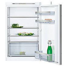 Buy Neff KI1212S30G Integrated Fridge, A++ Energy Rating, Right-Hand Hinge, 54 cm Wide, White Online at johnlewis.com