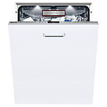 Buy Neff S727P70Y0G Fully Integrated Dishwasher, Stainless Steel Online at johnlewis.com