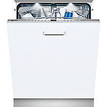 Buy Neff S71M66X1GB Fully Integrated Dishwasher, Stainless Steel Online at johnlewis.com