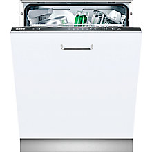 Buy Neff S51E50X3GB Fully Integrated Dishwasher, Black Online at johnlewis.com