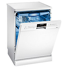 Buy Siemens SN26M292GB Freestanding Dishwasher, White Online at johnlewis.com