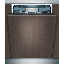 Buy Siemens SX778D00TG Fully Integrated Dishwasher, Stainless Steel Online at johnlewis.com