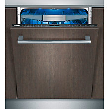 Buy Siemens SN678D00TG Fully Integrated Dishwasher, Stainless Steel Online at johnlewis.com