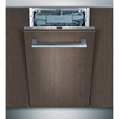 Siemens SR65T081GB Fully Integrated Slimline Dishwasher Stainless Steel