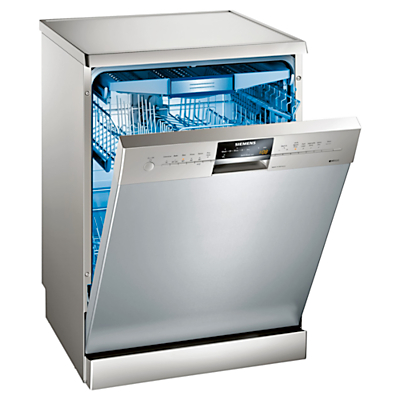 Image of Siemens SN26M892GB Freestanding Dishwasher, Stainless Steel