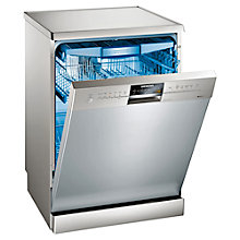 Buy Siemens SN26M892GB Freestanding Dishwasher, Stainless Steel Online at johnlewis.com