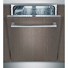 Buy Siemens SN66P050GB Fully Integrated Dishwasher Online at johnlewis.com