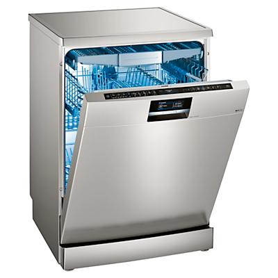 Image of Siemens SN278I01TG Freestanding Dishwasher, Stainless Steel