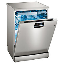 Buy Siemens SN278I01TG Freestanding Dishwasher, Stainless Steel Online at johnlewis.com